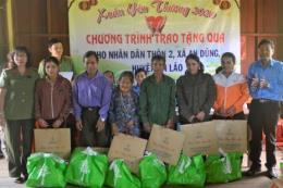 PC Bình Định mang Tết đến với đồng bào dân tộc