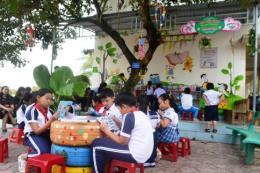 Vì một học đường xanh ở Quảng Ngãi