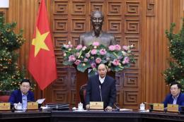 Thủ tướng: Không để công nhân bị thiếu lương trong dịp Tết