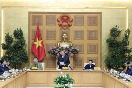 Thủ tướng Nguyễn Xuân Phúc làm việc với Tổ tư vấn kinh tế