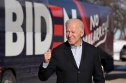 Bầu cử Mỹ 2020: Ứng cử viên Joe Biden dẫn đầu cuộc đua của đảng Dân chủ