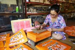 Tranh Tết - nơi lưu giữ một phần hồn Việt