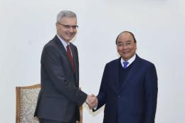 Thủ tướng Chính phủ Nguyễn Xuân Phúc tiếp Đại sứ Pháp