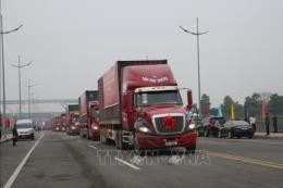 Thông quan trở lại qua cầu Bắc Luân 2 – cửa khẩu quốc tế Móng Cái