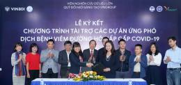Dịch COVID-19:Vingroup tài trợ 20 tỷ đồng cho các nghiên cứu chống virus Corona