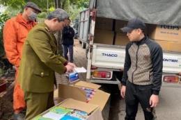 Dịch COVID-19: Tạm giữ trên 52.200 chiếc khẩu trang trong ngày 24/2