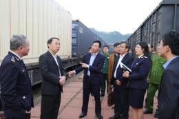 Xuất khẩu 460 tấn nông sản qua cửa khẩu đường sắt Quốc tế Đồng Đăng