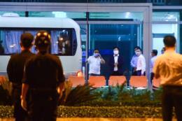 Dịch COVID-19: Đà Nẵng đưa 20 hành khách Hàn Quốc về nước