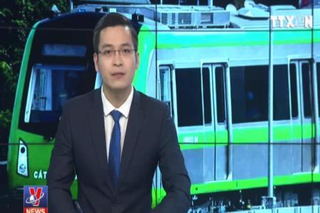 Chạy thử đoàn tàu tuyến đường sắt đô thị Cát Linh - Hà Đông