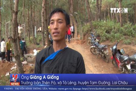 Bản Mông ở Lai Châu làm du lịch