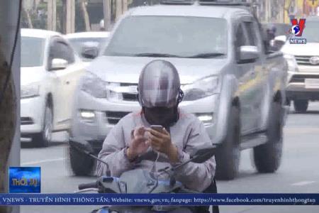Thái Lan tiến tới cấm ô tô để giảm bụi mịn