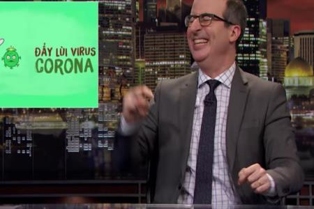 Phần nhắc đến ca khúc Ghen cô Vy trong chương trình Last Week Tonight with John Oliver (HBO)
