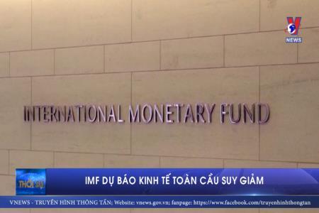 IMF dự báo kinh tế toàn cầu suy giảm