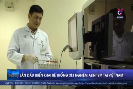 Lần đầu triển khai hệ thống xét nghiệm Alimitym tại Việt Nam