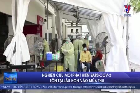 Nghiên cứu mới phát hiện SARS-CoV-2 tồn tại lâu hơn vào mùa thu