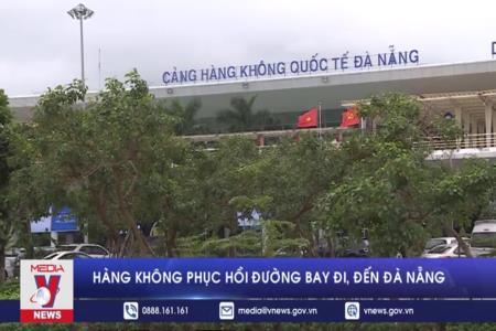 Hàng không phục hồi đường bay đi/đến Đà Nẵng